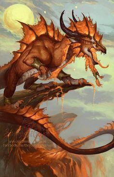 2014 Zodiac Dragon: Leo - by Christina M. Yen