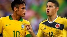 And James Rodríguez James Rodriguez, Neymar Vs, Vs Bras, My Goals, World Cup, Baseball Cards, American, Play, Game