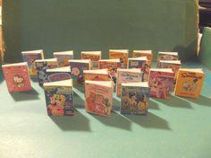 Barbie Doll 1:6 Toyroom School Miniature Book
