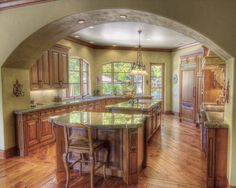 Kitchens With Keeping Rooms Design, Pictures, Remodel, Decor and Ideas - page 11