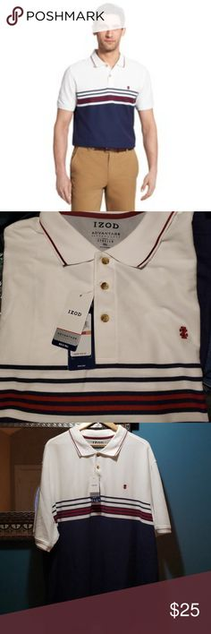 89f9a9181d Izod Advantage Performance Sport Flex Polo Brand New w/Tags. Size: 3XL 60
