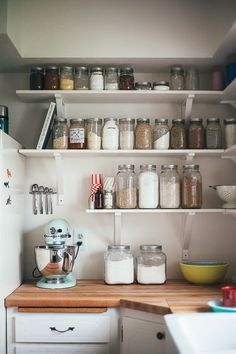 Kitchen Jar Organization - My Name Is Yeh