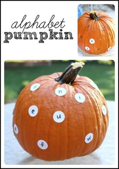 Alphabet Pumpkin: Match Capital and Lowercase Letters!