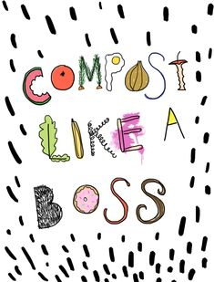 How to compost like a boss ? Share your thoughts by commenting below👇 . Living Tv, Clean Living, Reduce Waste, Zero Waste, Reuse Recycle, Green Life, Like A Boss, Sustainable Living, Sustainability