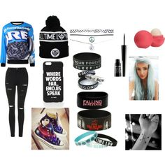 WHATEVERAA by isis-is-a-penguin on Polyvore featuring polyvore fashion style Topshop Converse Wet Seal Jac Vanek Lord & Berry Eos
