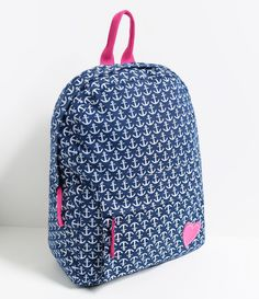 Mochila Feminina com Estampada - Lojas Renner Tween Backpacks, Cute Backpacks, School Backpacks, My Bags, Purses And Bags, Fashion Bags, Fashion Backpack, Mini Mochila, Back Bag