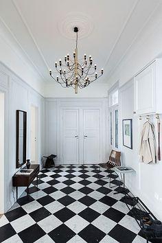 Mid century modern home in Stockholm - via Coco Lapine Design