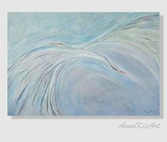 Ocean painting Sea painting Birds painting Blue sky by AnnaKisArt #originalpainting, #abstractpainting, #leatherpainting, #wallartdecor, #homedecor, #oceanpainting, #seepainting,  #oceanart, #birdspainting, #leathergift, #annakisart