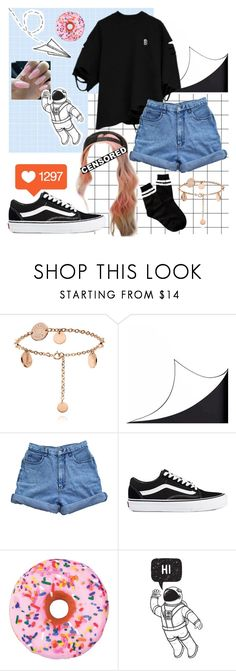 """Sock game 11 ~Madison"" by brookemcc ❤ liked on Polyvore featuring DOMESTIC, Bill Blass, Vans, Iscream and Free Press"