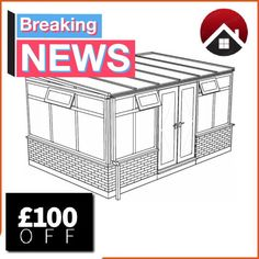 £100 discount off all conservatory orders over £2000 this September 2017 - supply only and made to measure  Http://www.budgetupvc.co.uk/upvc-conservatory  #supplyOnlyConservatory #conservatory #conservatories #diy #madeToMeasure #leanto #edwardian #selfbuild