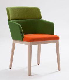 """chaise """"Concord"""" et ses déclinaisons de Claesson Koivisto Rune pour Capdell #design #chair #chaise #furniture"""