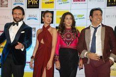 Saif, Kareena add glamour to the 'Happy Ending' premiere in Delhi