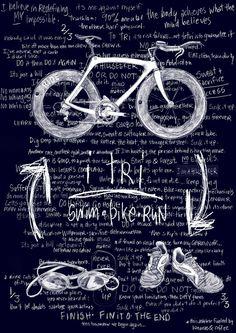 Swim Bike Run - Complete a triathlon!
