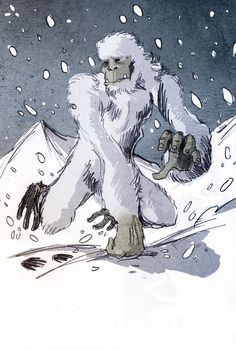 Why do we love to believe in monsters? Cryptozoology continues to fascinate us but to answer why we must look at the psychology of human interaction. Fantasy Creatures, Mythical Creatures, Prehistoric Creatures, Mythological Creatures, Science Halloween, Pie Grande, Pseudo Science, Strange Beasts, Bigfoot Sasquatch