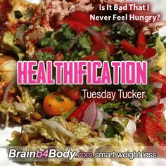 152: Tuesday Tucker, Is It Bad That I Never Feel Hungry? http://www.brainb4body.com/152-tuesday-tucker-is-it-bad-that-i-never-feel-hungry/
