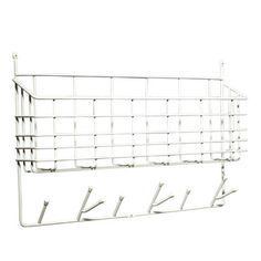 Mitten Shelf from Maze by Olof Kolte Can Storage, Storage Spaces, Hide Wires, Porch Entry, Gallery Frames, Rattan Basket, Cozy Blankets, Paper Cover, Home Look