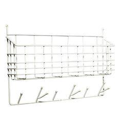 Förvaringskorg Mitten Shelf, vit