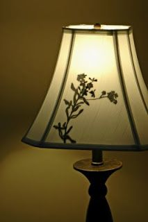 nannygoat: lamp shade silhouette