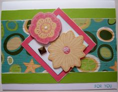 For You Footloose Card #CTMH  Stamp, Scrap, Craft with Judy