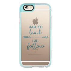 Where you lead- I will follow - Gilmore Girls - Transparent - iPhone 6s Case,iPhone 6 Case,iPhone 6s Plus Case,iPhone 6 Plus Case,iPhone 6 Cover,Clear