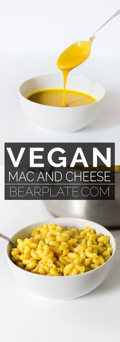 This quick and easy vegan mac and cheese recipes only needs 11 ingredients and is ready in 10 mins! Stretchy non-dairy vegan sweet potato cheese sauce. Easy Vegan Mac And Cheese Recipe, Vegan Cheese Sauce, Vegan Recipes Easy, Canning Sweet Potatoes, Chickpea Coconut Curry, Lentils And Rice, Vegan Butter, Veggies, Tasty