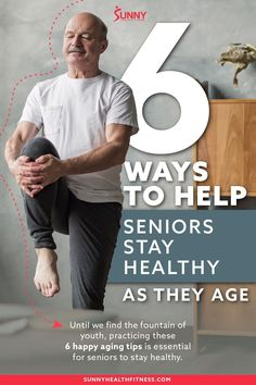Until we find the fountain of youth, practicing these 6 happy aging tips is essential for seniors to stay healthy. #sunnyhealthfitness #healthtips #healthtipsolderadults #healthtipsaging #aging #antiaging #healthy #stayhealthy Health And Fitness Articles, Health And Wellness, Health Fitness, Belly Breathing, Fountain Of Youth, Benefits Of Exercise, Healthy Aging, New Things To Learn, What You Can Do