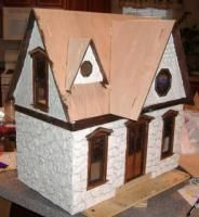 """Assembled version of the """"Orchid"""" Dollhouse Kit"""