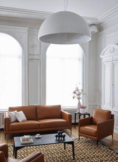 choisir son canapé en cuir marron