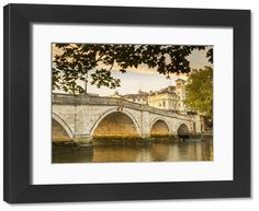 58x48 cm frame with high quality RA4 print made In Australia (other products available) - Richmond Bridge, River Thames, Richmond, London, England, UK - Image supplied by AWL Images - #MediaStorehouse - 58x48 cm frame with high quality RA4 print made In Australia Richmond Bridge, Richmond London, England Uk, London England, Frames On Wall, Wooden Frames, Uk Images, River Thames, Framed Prints