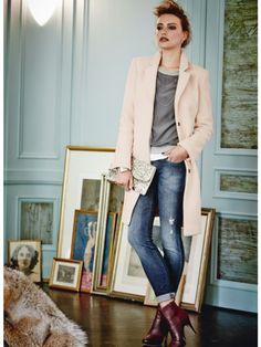Mit den richtigen Partnern lassen sich Jeans super elegant stylen