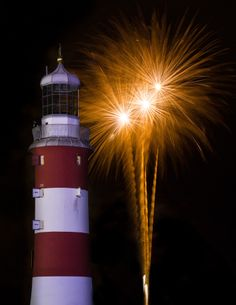 We are getting excited for the tonight in Plymouth. Ready with are oohs & ahhs at Smeaton's Tower Lighthouse Light Of The World, Light Of Life, Rest Of The World, Fireworks Pictures, 4th Of July Fireworks, July 4th, Beacon Of Light, Castle, Around The Worlds