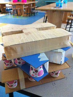 Apex Elementary Art: Adventures in Paper Mache. Make paper mâché letter blocks