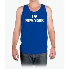 I Heart New York - Mens Tank Top