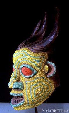 Bamileke helm masker Kameroen