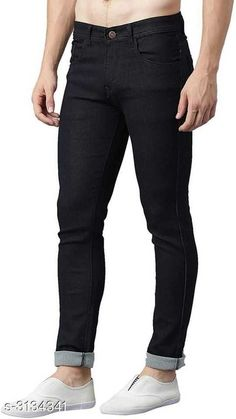 Checkout this latest Jeans Product Name: *Casual Cotton Lycra Men's Jean* Sizes:  28, 30, 32, 34, 36, 38 Country of Origin: India Easy Returns Available In Case Of Any Issue   Catalog Rating: ★4 (3797)  Catalog Name: New Casual Cotton Lycra Men's Jeans Vol 17 CatalogID_430131 C69-SC1211 Code: 174-3134341-4311