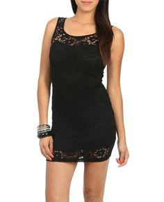 Sweetheart Lace Bodycon Dress - This is such a pretty and sexy dress! I can't wear to wear it out to dinner!