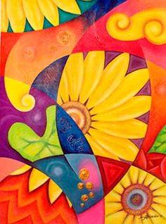 1000 images about propuesta de pinturas on pinterest for Pinturas acrilicas para cuadros