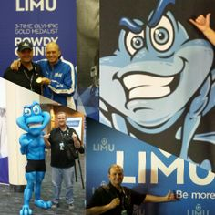 Limu Live at New Orleans, with Rowdy Gaines and the BluFrog at the National Convention.