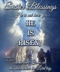 Easter Blessings He Is Risen Religious Quote easter easter quotes easter images easter quote happy easter happy easter. easter pictures religious easter religious easter quotes happy easter quotes quotes for easter Happy Easter Quotes Jesus Christ, Jesus Easter, Easter Subday, Greek Easter, Easter Ideas, Easter Images Religious, Easter Images Jesus, Religious Pictures, Rise Quotes