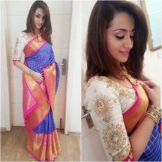 @dudette583  Sari - @kavithagutta  Styled by - @shravyavarma  #bollywood #style #fashion #beauty #bollywoodstyle #bollywoodfashion #indianfashion #celebstyle