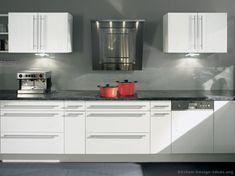 Pictures of Kitchens - Modern - White Kitchen Cabinets (Kitchen #15)