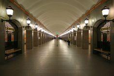 Станция метро «Достоевская» Санкт-Петербург
