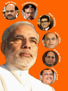 All Modi's Men: The team behind the brand 'Narendra Modi' #India #Elections2014 #Results2014