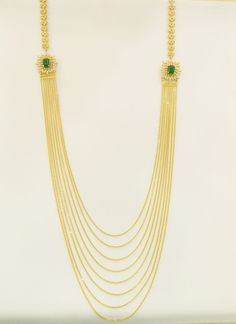 Necklaces / Harams - Gold Jewellery Necklaces / Harams (NK7990RECZ73) at USD 3,795.64 And GBP 3,057.42