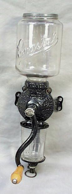 Antique coffee grinder...want one!