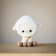 "Crochet your own sweet little lamb/sheep using this crochet pattern which is a part of our Chinese New Year series! This pattern contains clearly explained instructions and pictures to help you crochet this fluffy lamb/sheep. Make one or a whole flock of fluffy sheep for yourself or your loved ones! The pattern is written in US crochet terminology and the finished dimensions are 5.5""/14 cm tall and 5""/12.7 cm wide. The printable PDF is a total of 5 pages including the cover page.  Please…"