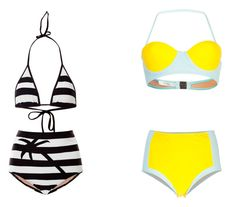 high waisted bikinis (via Elle mag's top 16 list)