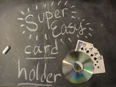 Free Accessible Playing Card Holder