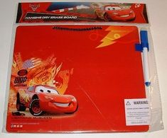 Disney Pixar Cars 2 Lightning McQueen Dry Erase Message Board * Read more  at the image link.