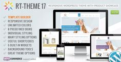 Buy RT-Theme 17 Responsive Wordpress Theme by stmcan on ThemeForest. RT-Theme 17 is a premium WordPress theme with powerful CMS tools. You can use it for business, corporate, product ca. Template Wordpress, Tema Wordpress, Premium Wordpress Themes, Wordpress Plugins, Wordpress Free, Ecommerce, Website Design Inspiration, Design Blog, Web Design